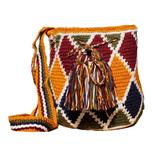 Mochila Wayuu Bag | Medium | Rhombus | Handmade in Columbia