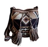 Mochila Wayuu Bag   Medium   Mother Earth   Handmade in Colombia