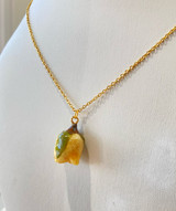 Rose - White | Necklace | Real Flower | 18K Gold Plated Brass | Handmade in Vancouver