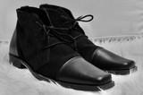 Lavorazione Artigiana Shoes | Boots | Black | Handmade in Kenya | Genuine leather