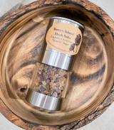 "Herb Salt   Espresso Choc ""Khadis"" Sugar   Stainless Steel Mill   Made in BC"