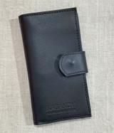 Womens Wallet | Genuine Leather - Black | Handmade in Kenya