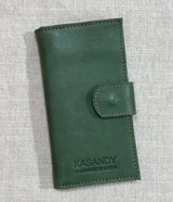 Womens Wallet | Genuine Leather - Forest Green | Handmade in Kenya