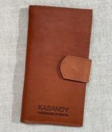 Womens Wallet | Genuine Leather - Red Tan | Handmade in Kenya