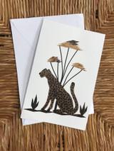 Greeting Card | Cheetah | Banana Bark