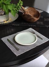 Placemats | Black & White | 100% Cottonl | Handmade in Kenya