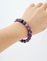Gemstone Beaded Bracelet ~ Amethyst   Handmade in Victoria