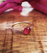Bougainvillea Stacking Ring    Gold   Handmade in Victoria