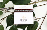 Gemstone Single Wrap Men's Bracelet   Labradorite   Handmade in Victoria