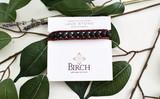 Gemstone Single Wrap Men's Bracelet   Lava Stone   Handmade in Victoria