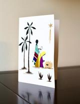 Greeting Card | Mary & Joseph | Banana Bark & Blanket