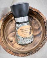 Herb Salt | Mediterranian Blend | Glass Mill | Made in BC