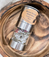 Herb Salt | Mediterranian Blend | Stainless Steel Mill | Made in BC