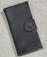 Genuine Leather Handmade Travel Wallet - Dark Brown | Handmade in Kenya