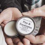 Body Butter | Pine & Eucalyptus | 30 g | Beth & Olivia | Handmade in Canada