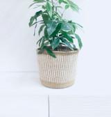 "Kiondo Basket - Light Brown - 10""   Planter, Storage, Decor"