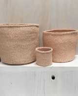 Kiondo Basket - Natural Peach | 10"