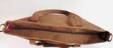 Genuine Leather Tote Bag   Light Brown   Handmade in Kenya