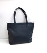 Genuine Leather Tote Bag | Black | Handmade in Kenya