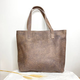 Genuine Leather Tote Bag | Brown | Handmade in Kenya