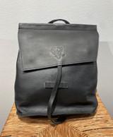 Leather Backpack Mini - Black   Genuine Leather   Women's   Handmade in Kenya