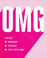 Greeting Card | OMG Congrats