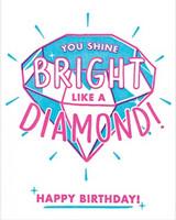 Greeting Card | Shine Bright Birthday