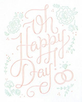 Greeting Card | Oh Happy Day