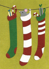 Greeting Card | Squeaky Stockings