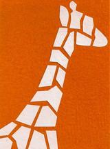Greeting Card | Abstract Giraffe