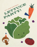 Greeting Card | Lettuce Party Birthday