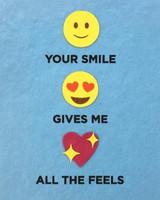 Greeting Card | All The Feels Emoji