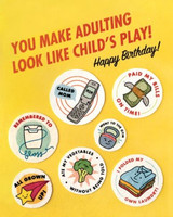 Greeting Card | Adulting Birthday