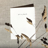 Greeting Card | You're my favourite