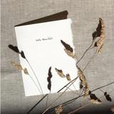 Greeting Card | Hello Beautiful.