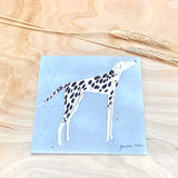 Dog | Recycled Paper Plantable Greeting Card | Handmade in South Africa