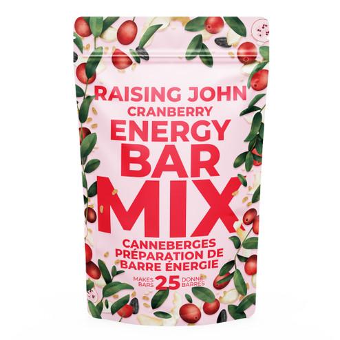 Raising John   Energy Bar Mix - Cranberry ::10