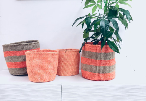 Kiondo Basket - Orange | 8"