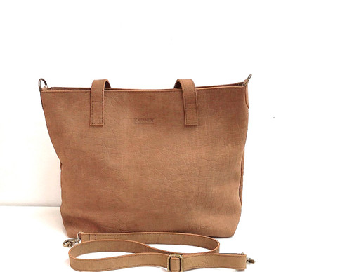 Genuine Leather Tote Bag | Chai | Handmade in Kenya