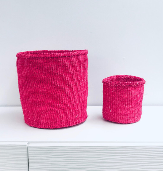 Kiondo Basket | Fuschia | 10"