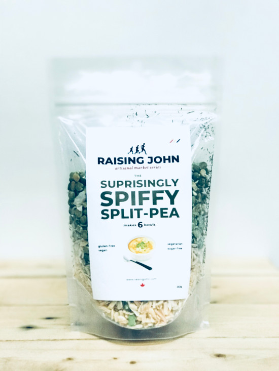 Raising John Soup Mix | Split Pea