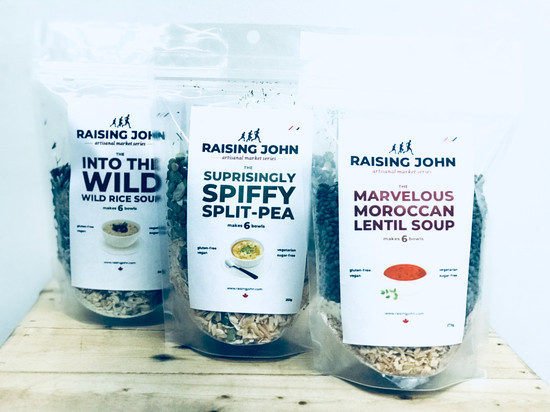 Raising John Soup Mix | Wild Rice