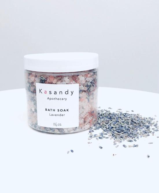 Bath Soak | Lavender | Handmade in Vancouver - 16oz