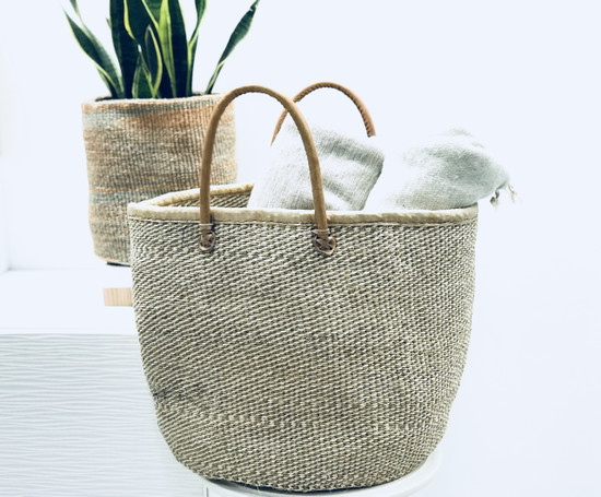 Kiondo Basket - Natural | 12.5"