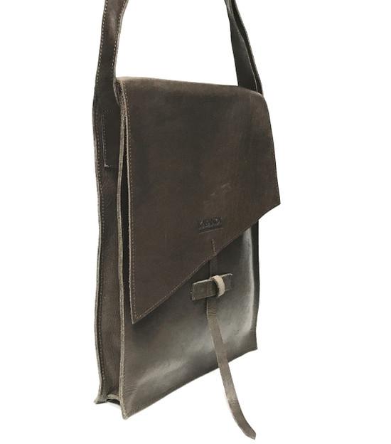 Genuine Leather Satchel/Messenger Bag | Brown | Unisex