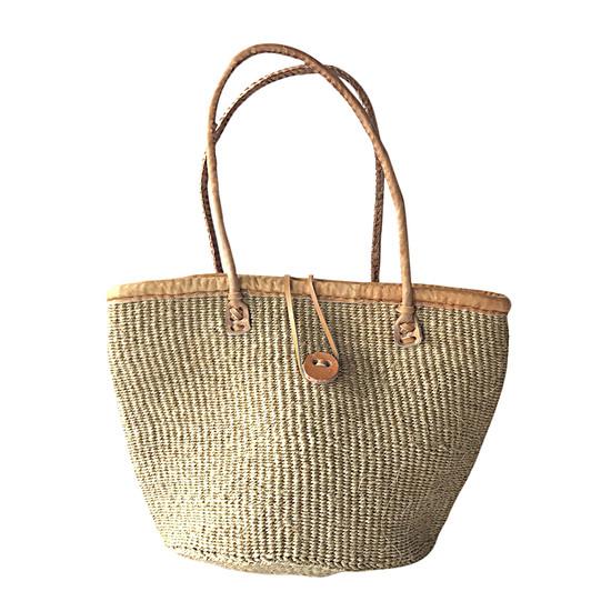 "Kiondo Basket Bag - Natural | Medium - 10"""