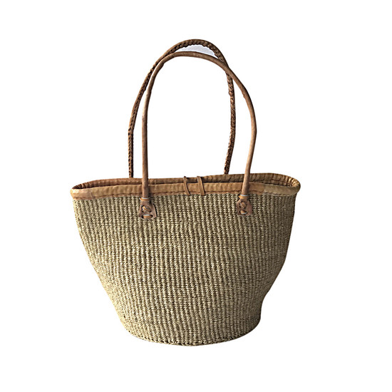 Kiondo Basket Bag - Natural | Medium - 10""