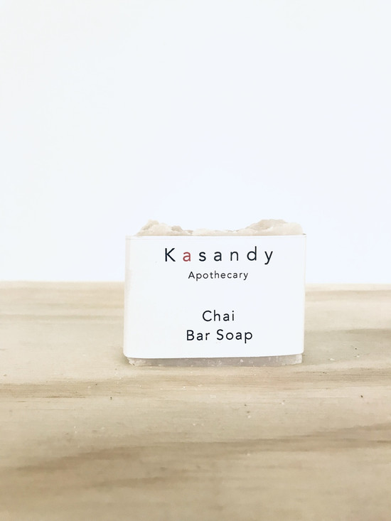 Bar Soap - Chai | Handmade in Vancouver | Organic, Vegan.