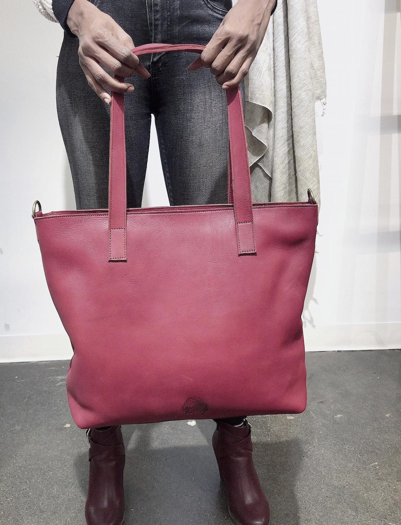 Genuine Leather Tote Bag