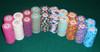 Horseshoe series poker chips in stacks